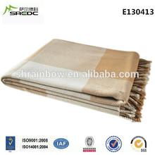 SREDC 100% cashmere New Style High-level High grade Picnic Fleece Blanket