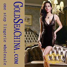 China Charming Lingerie Sexkiss Mini Dress Elegant Short Summer Adult Lingerie