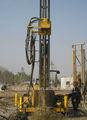 máquina de perforar el pozo de agua y arreglar