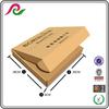 Custom print kraft paper flat folding gift box