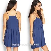Chinese clothing manufacturers casual chiffon dress / Garment factory summer dress 2015 / Woman apparel casual dress designs