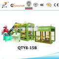 2014 quente baixo preço qty8-15 automático hidráulico cheio de tijolo churrasco