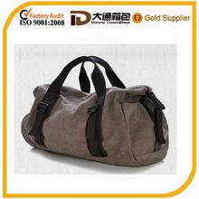 Printing canvas travel duffle bag / custom printed stylish canvas duffle bags