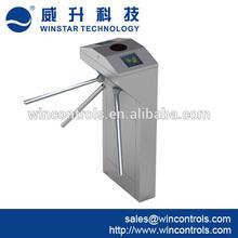 2014 Newly tripod turnstile/electric baffle gate secure