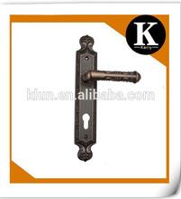2014 new model hot sale lever type emtek mortise locks fancy hardware handles made in turkey