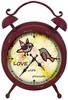 Latest decorative metal antique table clock