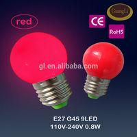 50-60hz e27 b22 led lamp mini christmas light bulbs wholesale home decor
