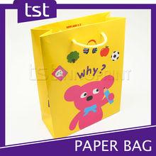 Promotional Custom Full Color Printed Paper Gift Bag