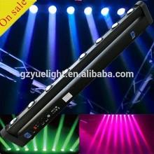8pcs*10W RGBW american dj bar sweeper BEAM led moving head light