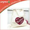 Eco Friendly Cotton Canvas Cloth Drawstring Bag