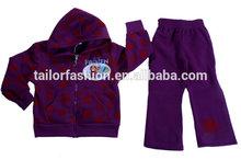 wholesale kid frozen hoodie and pants 2 pcs clothing set children frozen track suit frozen clothes suit children