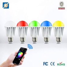 newest technology product,Android/IOS wifi RGBW strobe light bulb