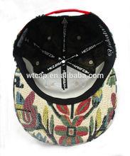 6 panels sandwich and embroidery golf baseball cap