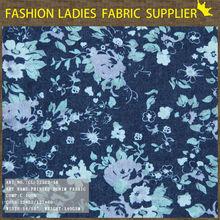 keqiao textile alibaba china print denim fabric discharge print
