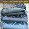 textiles 100%cotton denim fabric print denim fabric discharge print