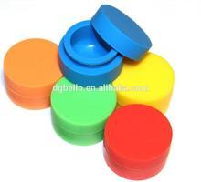 Non-stick Concentrate Storage Silicone Container Jar dab wax container butane hash oil silicone container