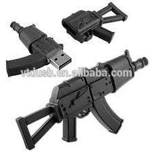 Gun shape usb stick gun usb flash drive custom pvc usb flash gun design