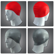 Hot sale silicone swim caps / wholesale silicone swimming caps
