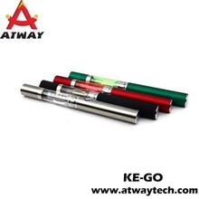 high quality healthy ecig ke go electronic cigarette bubbler pipe