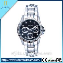 Women Stainless Steel Wrist Watch Watches Luminator