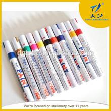 Wholesale High quality Fabric paint marker pen Wholesale indelible permanent in paint marker pen