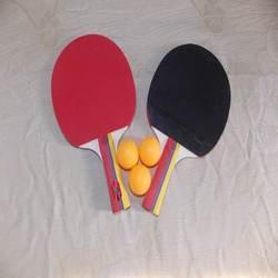 pimples rubber table tennis bat