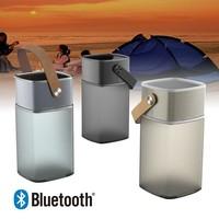 2014 New Innovative Super Bass Portable LED Lamp Bluetooth Speaker