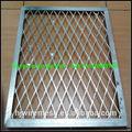Aplanar metal desplegado canal de guardia/ventana guardias de metal desplegado canal
