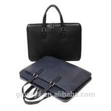 Classic men ostrich calf leather tote bag briefcase bag