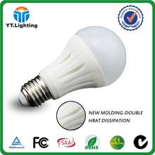 OEM ODM Factory 3 years warranty ceramic 5w led bulb plastic housing
