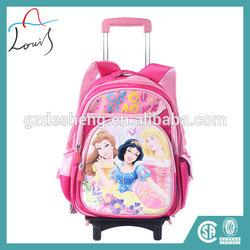 2014 wholesale kids trolley school bag
