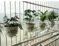 Parede decorativa de metal decorativo vaso de flores stand/flor suporte de parede( exterior)