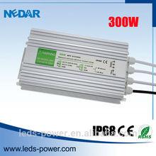 IP 68 constant voltage 300W 12V led driver