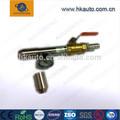 A prueba de agua equipo de laboratorio de boquillas intercambiables iec60529 ipx5/ipx6 chorro de la boquilla