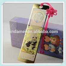 high quality delicate bamboo bookmark (xdm-bk254)