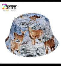 Wholesale Flower Custom Digital Printed Bucket Hats