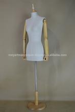 Antique Fiberglass Female Model Body Form