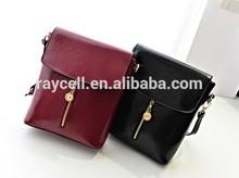 2014 Popular Nice Bright Color Mini Style Cross Body Female PU Shoulder Bags