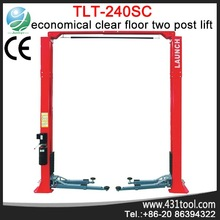 TLT240SC Economical Clear Floor Two Post Lift hydraulic for car lifts for home garages