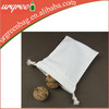Promotional Small Eco Organic Cotton Drawstring Bag