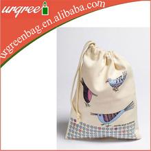 High Quality Canvas Drawstring Laundry Bag