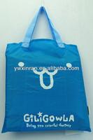 Fashion pig shape folding supermarket shopping bag