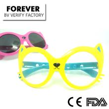 FK0253 Cute Cat Face Funny Kid Sunglasses ( China Factory)