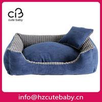 square luxury pet dog beds