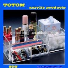 POP acrylic cosmetic organizers