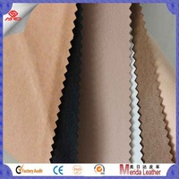 soft pu leather upholstery for shoes lining/shoes material