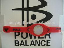 American Basketball team power energy silicone wristband bracelet for Bull team logo