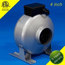 2014 vendita calda 4 pollici piccolo ventilatore di scarico per la cappa della cucina