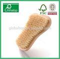 de madera del arte del clavo de polvo cepillo de fregado de manicura y pedicura herramienta de limpieza