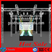 Hot sale Guangzhou China Cheap CE,SGS ,TUV cetificited lightweight aluminum truss system fashion show lighting truss